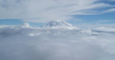 Mt. Rainier, photographed by one of our members